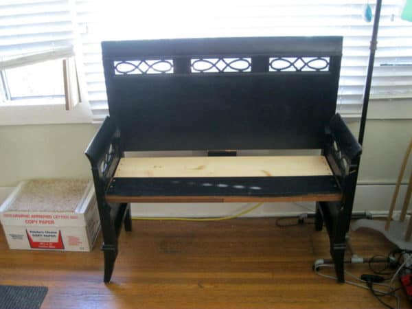 Bench From An Old Headboard Recycled Furniture
