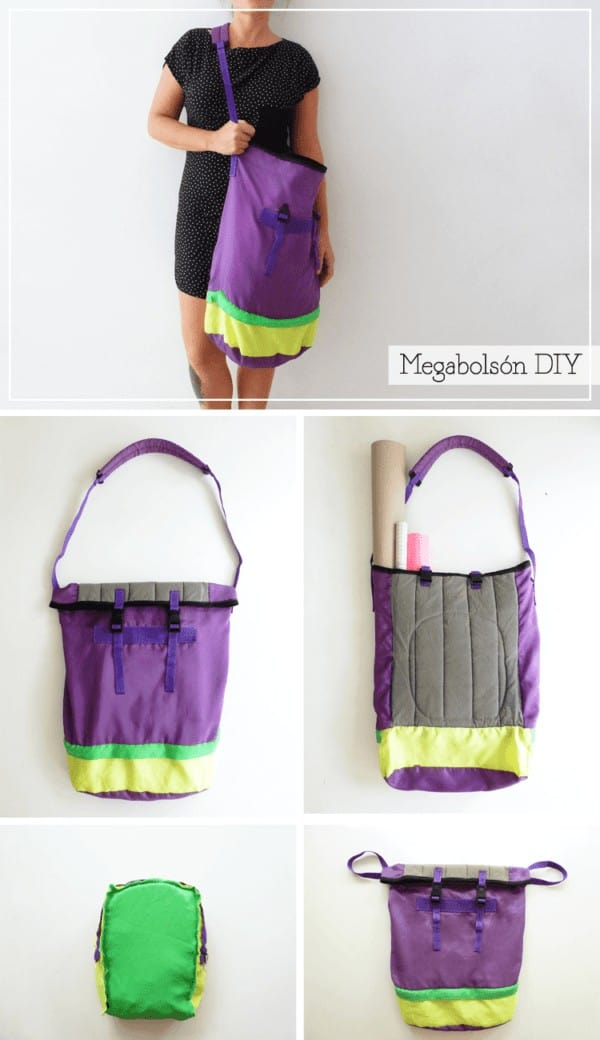 Upcycled Diy Maxi Tote Bag Do-It-Yourself Ideas