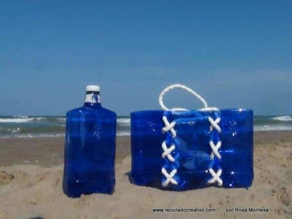 Bag Made With Recycled Plastic Bottles Recyclart