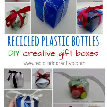 Amazing Gift Boxes Made Out Of Recycled Plastic Bottles