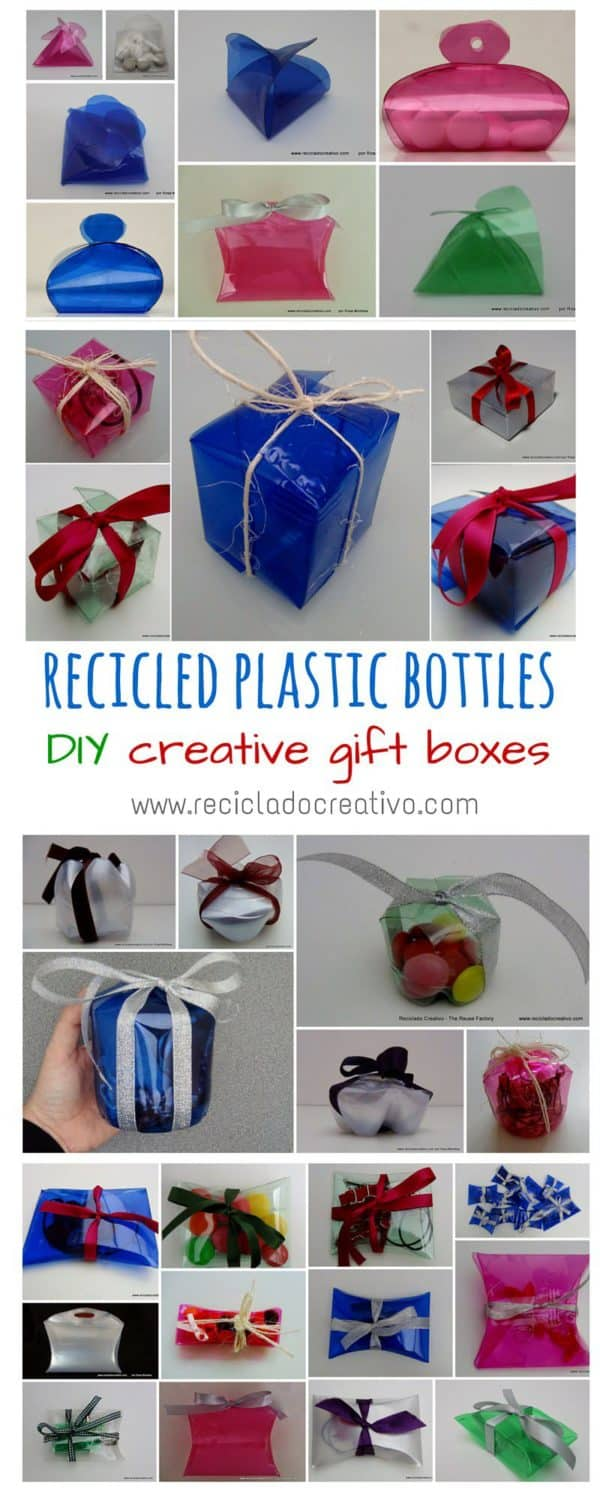 Amazing Gift Boxes Made Out Of Recycled Plastic Bottles ...