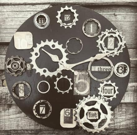 Bike Enthusiast Clock