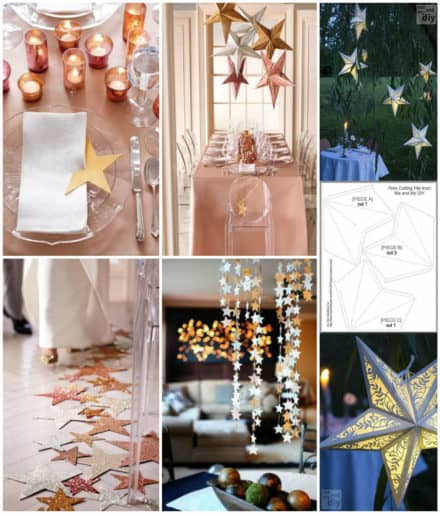 Easy Last Minute Christmas Décor Using Paper