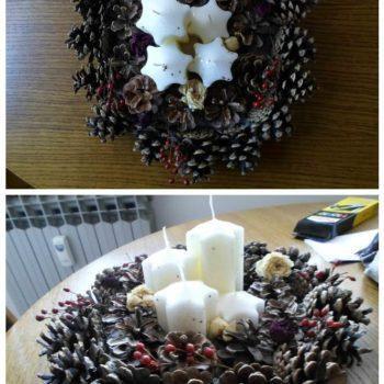 Advenski Vjencic / Advent wreath