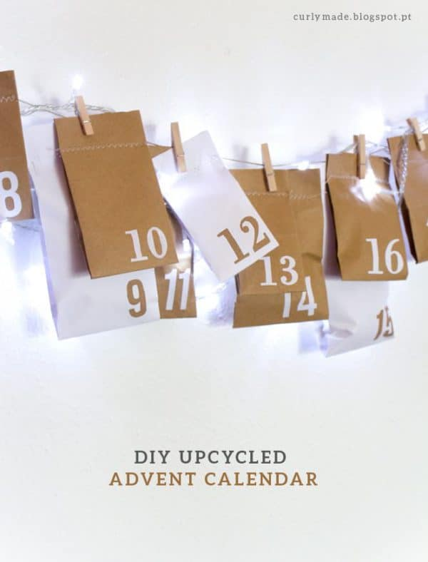 Diy upcycled advent calendar from paper bags recyclart img6405com titulo solutioingenieria Image collections