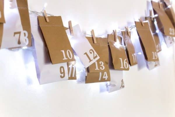 Diy Upcycled Advent Calendar From Paper Bags Do-It-Yourself Ideas