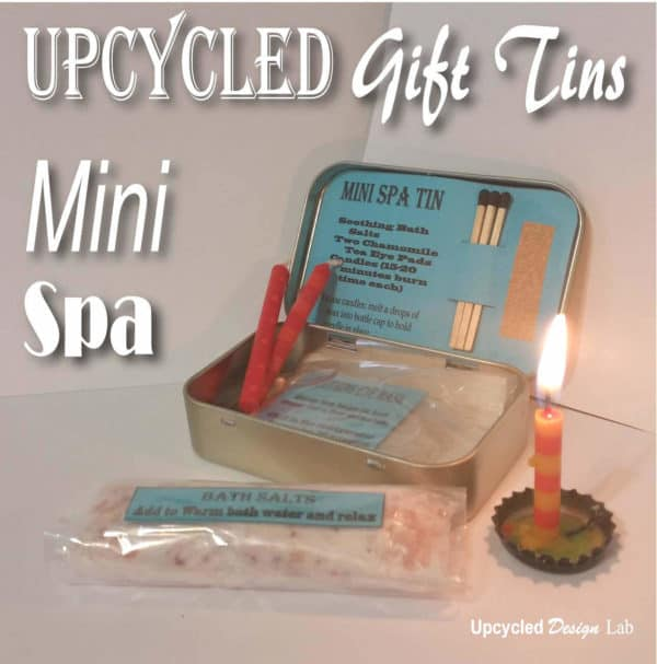 Upcycled Mini Spa Altoids Gift Tins / Stocking Stuffer / Party Favors Accessories