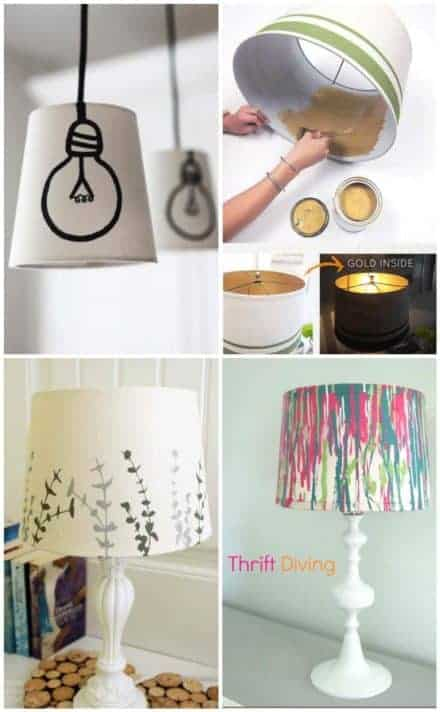 5 Ways to Re-decorate an Old Boring Light
