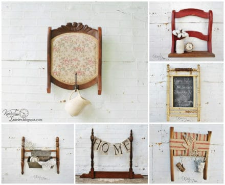 7 Decorative Uses for an Old Broken Chair