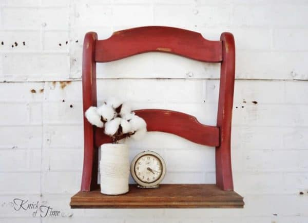 7 decorative uses of an old broken chair 2