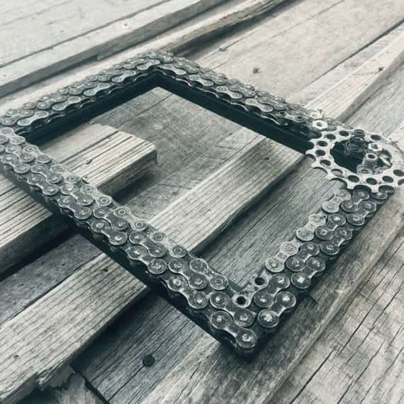 Bike Chains Upcycled Into Frames Upcycled Bicycle Parts
