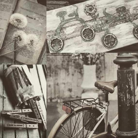 Decorative Keepsake Box Accessories Upcycled Bicycle Parts