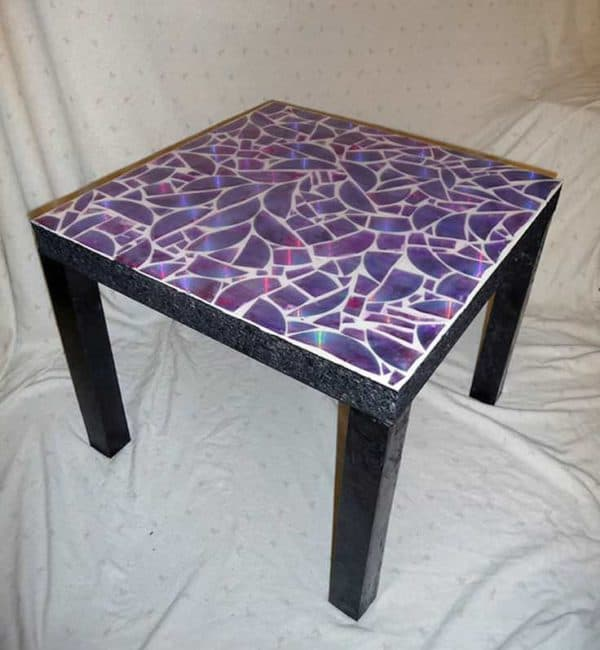 Easy Ideas to Reuse Old Cd's Recycled Electronic Waste Recycled Furniture