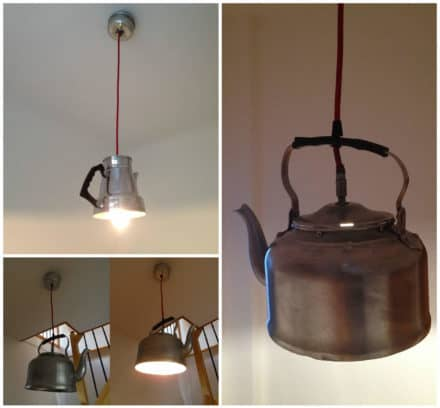 Kitchenware Into Lamps