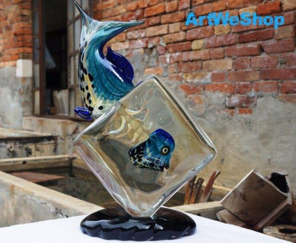 Original Murano Glass from Italy Recycled Glass