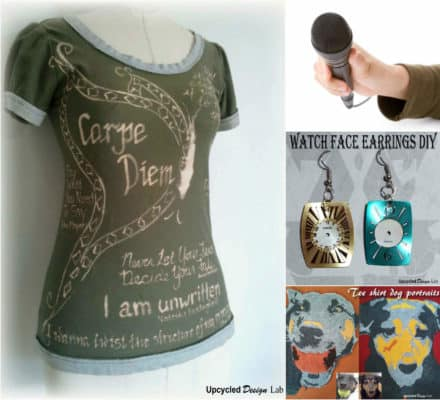 Recycled Art Interview #6: Cindy Fortin From Upcycled Design Lab