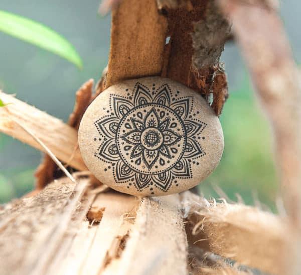 Stone Art Recycled Art Wood & Organic