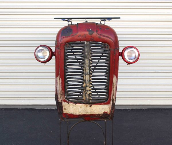 Vintage Massey Ferguson Tractor Upcycled Into Design Bar Mechanic & Friends Recycled Furniture