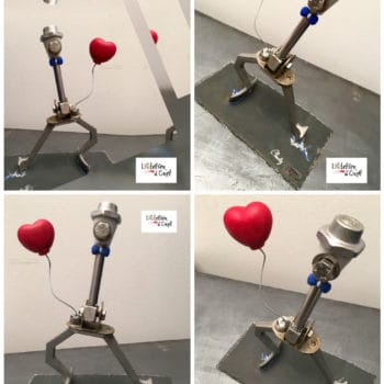 Charly: Small Metal Sculpture