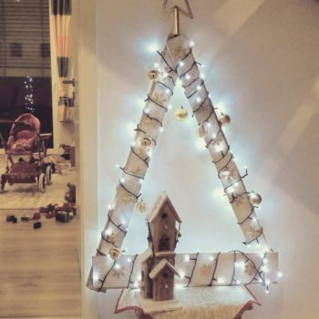 Christmas Tree from Repurposed Pallet