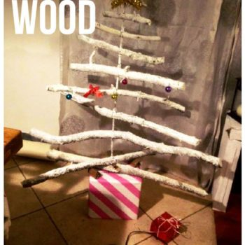 DIY Christmas Tree From Old Branches