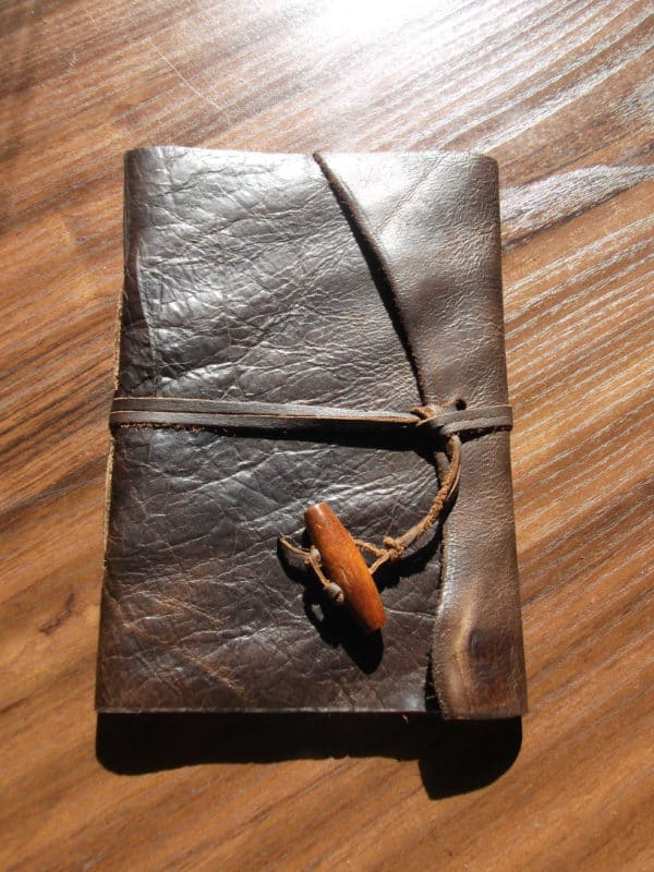 Scrap Leather Into Notebook Recycling Paper & Books