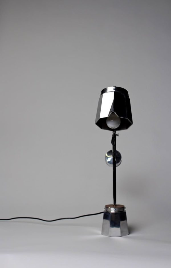 Upcycled Moka Pot Into Beautiful Lamp Lamps & Lights