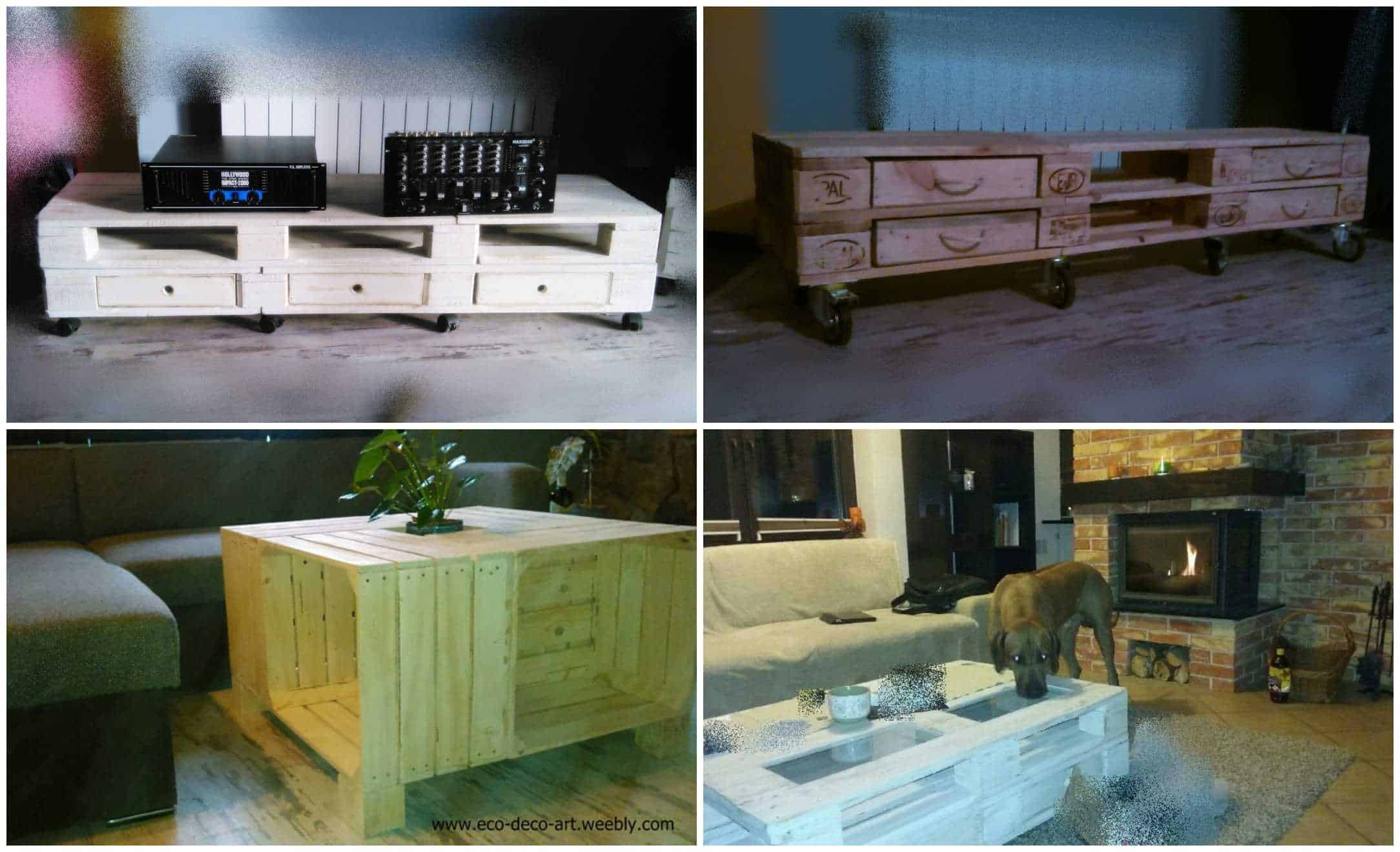 Furniture from pallets in poland recyclart for Furniture made in poland