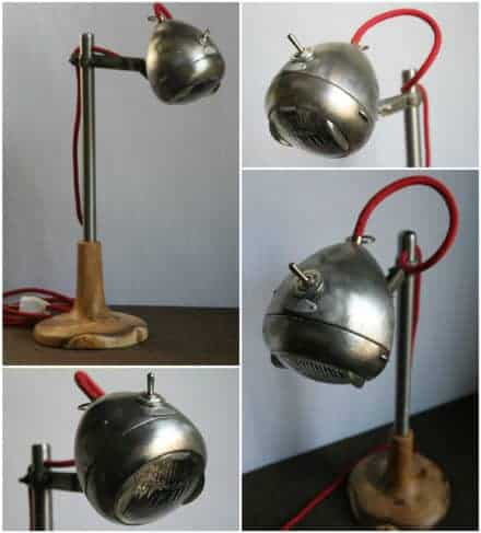 Light Rider: Desk Lamp from Upcycled Bike Light