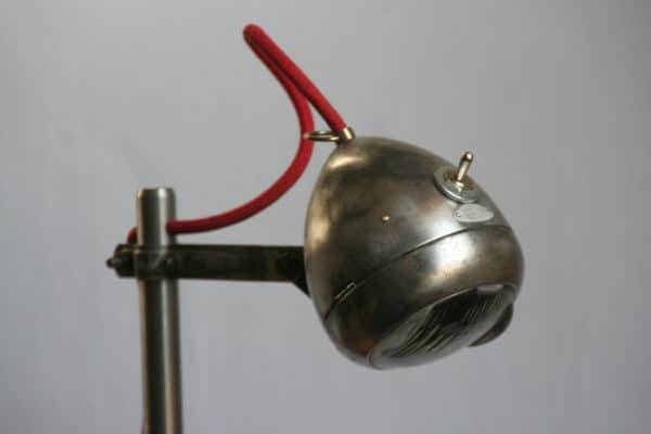 Light Rider: Desk Lamp from Upcycled Bike Light Lamps & Lights Upcycled Bicycle Parts