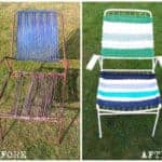 Old Garden Chair Revival – Nautical Style