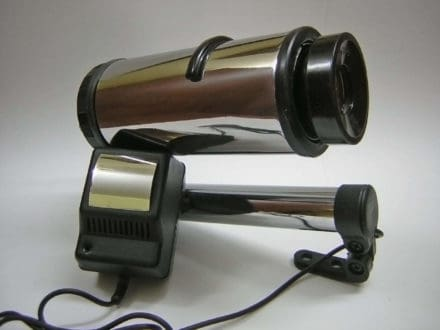 Old Slide Projector Optics into Design Lamp