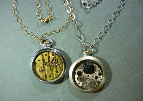 Piece Of Time: Jewels from Upcycled Watch Parts Upcycled Jewelry Ideas