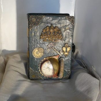 Steampunk Book: Tribute to Jules Verne