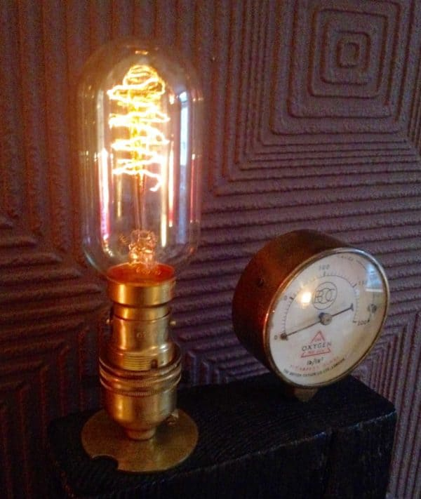 Steampunk Edison Lamp Lamps & Lights