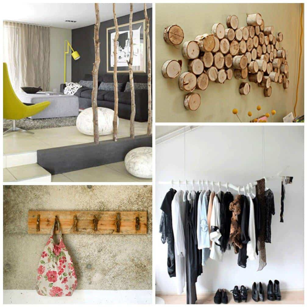 Creative decor ideas using driftwood branches or reclaimed for Accents decoration