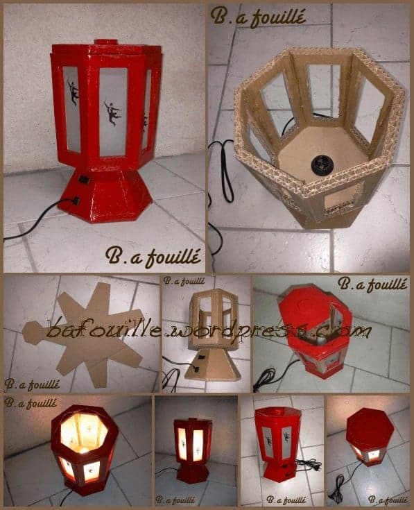 Heptagon, 7th Art And Praxinoscope Into A Lamp Lamps & Lights