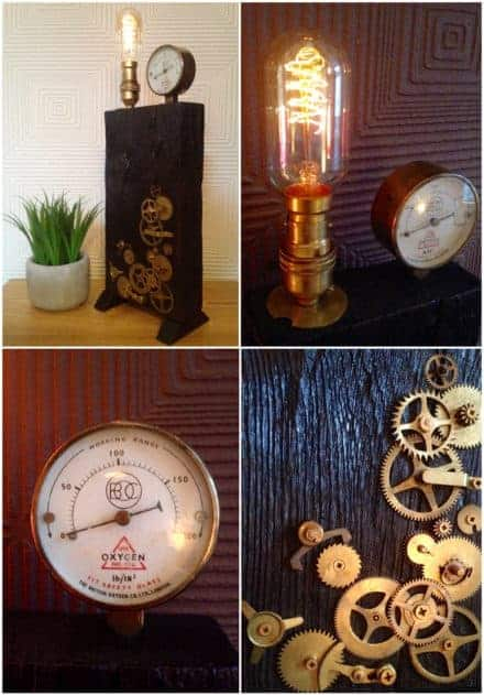 Steampunk Edison Lamp