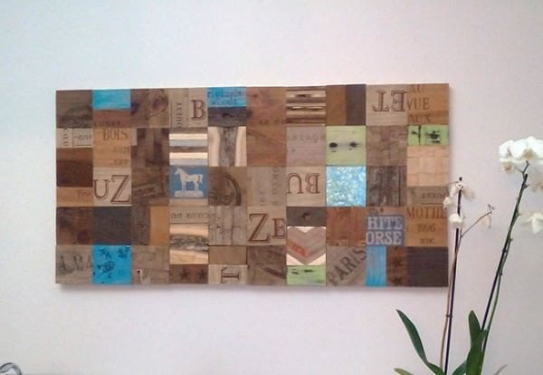 Unlimited Creative Decor Using 4x4 Magnetic Reclaimed Wood Accessories
