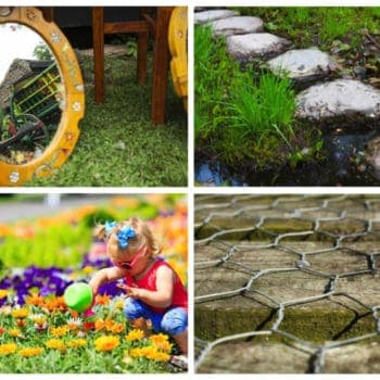 6 Upcycling Projects to Improve Your Lawn's Look