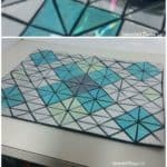 Add Some Bling To Your Table - Placemats From Upcycled Cd's