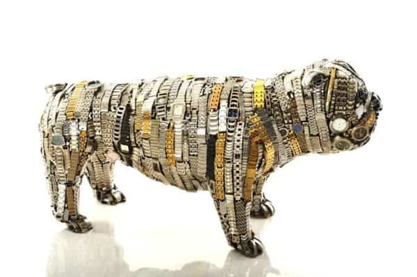 Unchained By Nirit Levav Recycled Art Recycling Metal