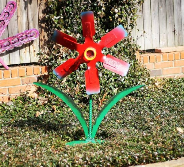 Upcycled Spring Flowers Garden Ideas