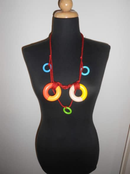 Upcycled Wooden Toys Into Necklaces