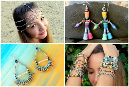 Eco Adornments Recycled From Rubbish