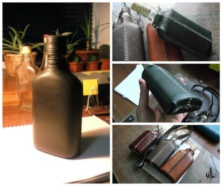 Making Flasks From Used Glass Bottles (Kind Of Intro)