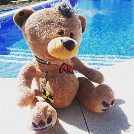 Nearly-headless Nick - The Punk Teddy Bear