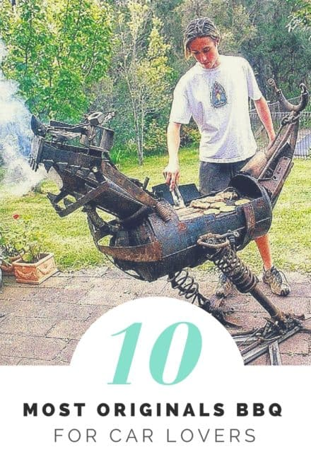 10 of the Most Originals Bbq for Upcycled Car Lovers