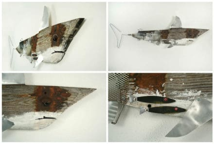 Driftwood Shark Sculpture