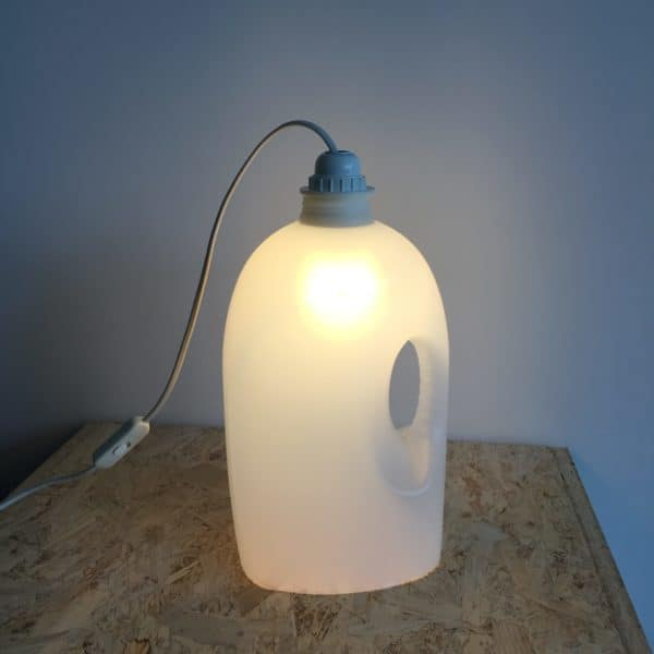 Plastic Bottle Lamps Recyclart